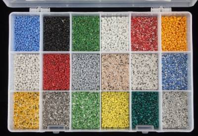 Coloured Quartz Sample Box